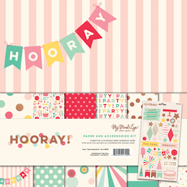 Hooray paper and  - accessories kit