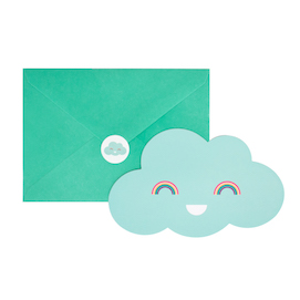 Clouds  - party invites