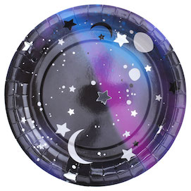 Galaxy  - paper plates
