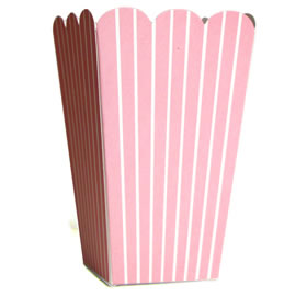 35% OFF -  Candy Box - Pale pink stripes (x10)