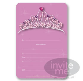 Tiara - Write-in invitations