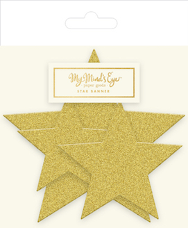 Gold Star  - party banner