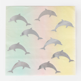 Dolphins  - party napkins