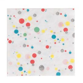 Multicolour bubbles  - party napkins