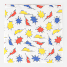 Super heroes  - party napkins