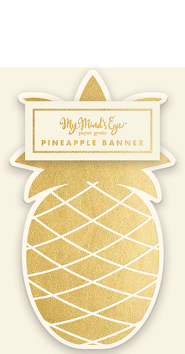 Pineapple  - party banner